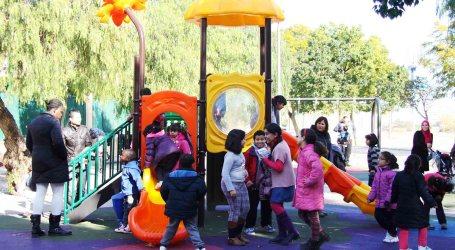 Nuevos juegos infantiles en cuatro parques de Mislata