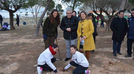 Los escolares de Moncada celebran el Día del Árbol
