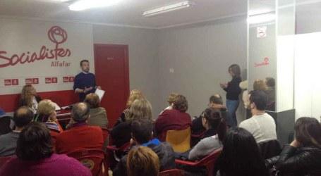 Los Socialistas de Alfafar inician un ciclo de participación ciudadana
