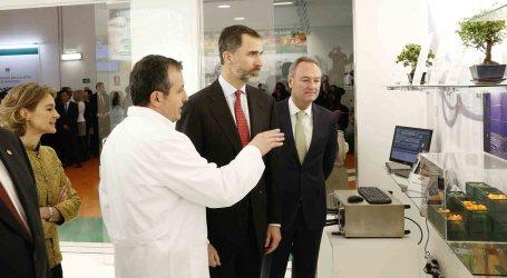 El Rey Felipe VI visita Paterna y la Alcaldesa le invita a la Cordà