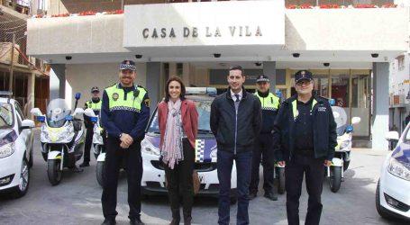 Dos nuevos vehículos se unen a la flota de la Policía Local de Mislata