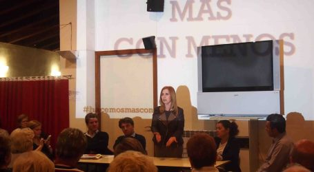Carmen Jávega, candidata a la alcaldía de Aldaia por el PP
