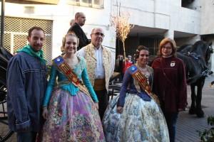 Alaquàs celebra la Cavalcada del Ninot