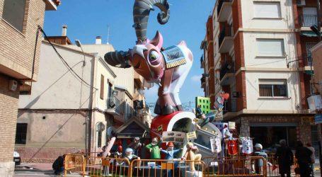 Cristóbal Sorní y Plaza del Pouet, fallas ganadoras del primer premio de Burjassot