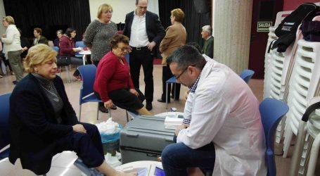 700 vecinos de Xirivella se hacen las pruebas en la III Jornada sobre la Osteoporosis