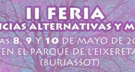 Las Ciencias Alternativas y Mágicas llenarán este fin de semana el Parque de l'Eixereta de Burjassot