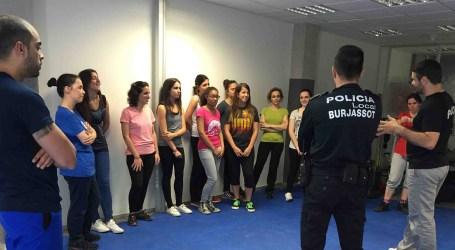 Defensa personal gratuita para mujeres en Burjassot