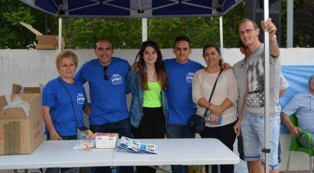 El PP del Barrio del Cristo celebra una fiesta para los más pequeños