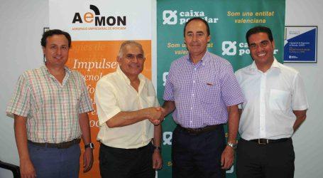 Caixa Popular y AEMON firman un convenio de colaboración para mejorar la financiación de las empresas