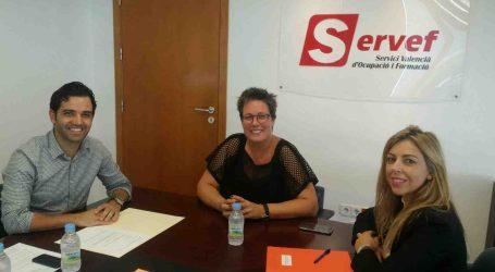 Sagredo pide que Paterna tenga una oficina propia del Servef
