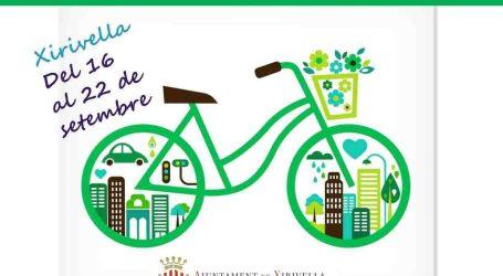 Xirivella celebra la Semana de la Movilidad Sostenible