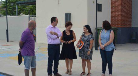 La corporación de Aldaia visita los centros escolares para comprobar el estado de las instalaciones