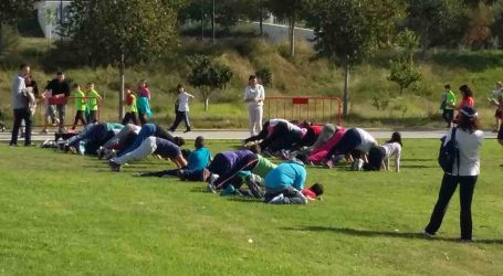 400 alumnos de Paterna participan en el Workout Spartan Escolar