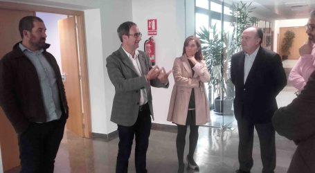 Jordi Sebastià se ofrece en Paterna a ser el representante de los polígonos en Europa