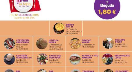 La Ruta de la Tapa de Burjassot podrá degustarse este fin de semana