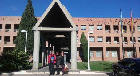 Burjassot expone a la Conselleria de Educación las necesidades educativas del municipio