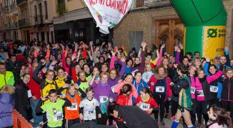 500 participantes toman la salida en la Carrera de la Mujer por la Igualdad de Mislata