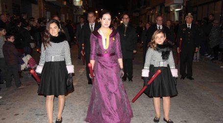 La Santa Cena y las Negaciones de Pedro procesionan por Torrent el Lunes Santo