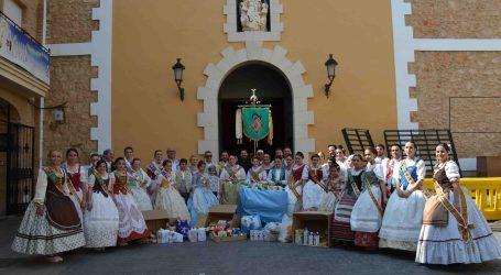 Cáritas Albal recibe 800kg de alimentos gracias a la I Cercavila Solidaria