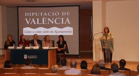 Conxa García participa en una jornada sobre mediación en Torrent