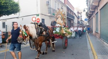Mislata celebra la passejà de la Mare de Déu dels Àngels de Mislata