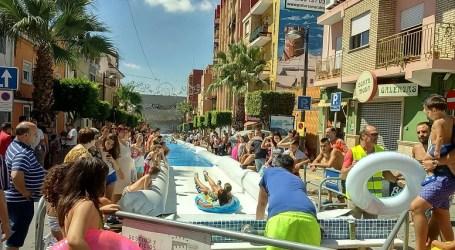 El PP pide a Sagredo que aclare la 'contratación express' de un tobogán acuático para Fiestas
