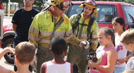 Conociendo a los bomberos en Alfafar