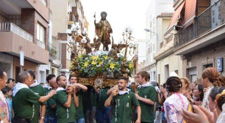 San Roque visitará los barrios de Burjassot del 4 al 10 de agosto