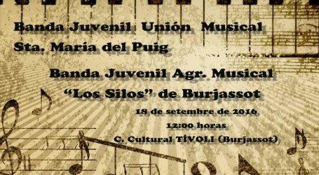 La Agrupación Los Silos de Burjassot inicia curso con un concierto