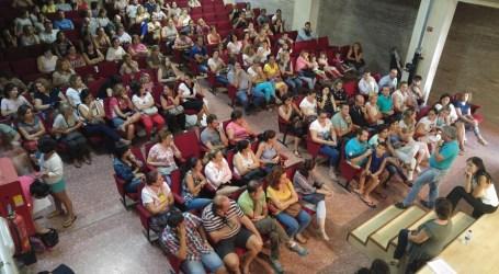 Dinar per torns davant la falta d'espai al CEIP de la Pobla