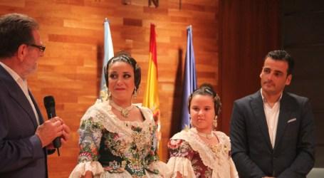 Carmen Sirvent i Paula Giménez, falleres majors de Torrent