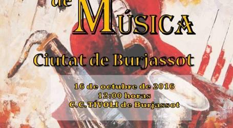 El Tívoli acoge el XXXVI Festival de Bandas de Música Ciudad de Burjassot