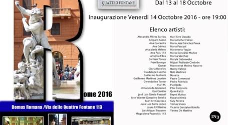Un artista de Sedaví participa en una exposició col·lectiva a Roma