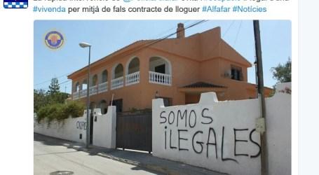 Policía Local de Alfafar evita una ocupación ilegal