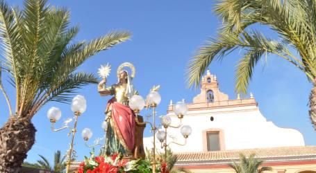 Celebración de la festividad de Santa Bárbara en Moncada
