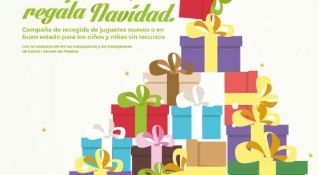 Paterna espera recoger más de 500 juguetes para menores desfavorecidos