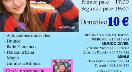 Torrent acoge la gala solidaria navideña 'Una sonrisa para Lucía'