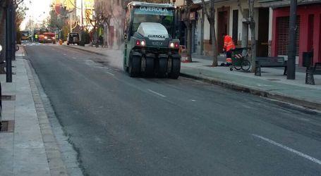 Xirivella finalitza les obres de millora de calçades i carril bici