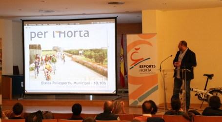 Una 'app' informa sobre una red de 270 km para ir a pie o en bici por L'Horta