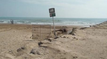 Instalan pequeñas plantas de cloro en las acequias que desembocan en las playas de Alboraya, Meliana, Foios, Meliana, Massamagrell y El Puig