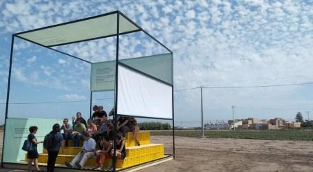 Arranca 'Miradors de l'Horta' con la instalación de tres obras efímeras en plena huerta