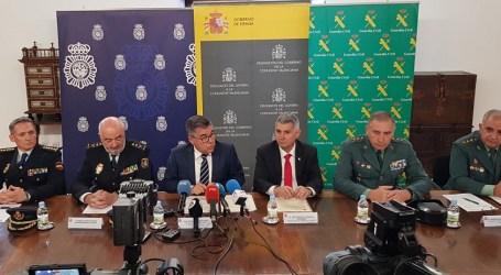 Se presenta la nueva delimitación de las Fuerzas y Cuerpos de Seguridad del Estado de la provincia de Valencia