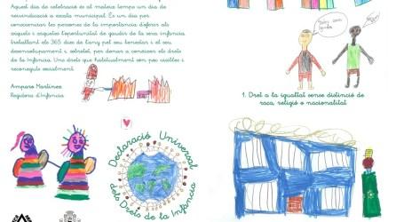 Manises reivindica els drets de la seua població infantil amb motiu del Dia Mundial de la Infància