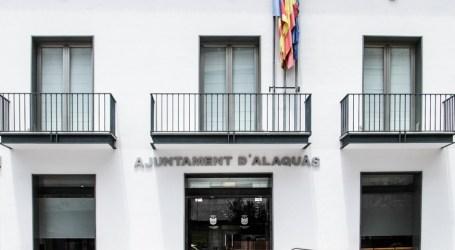Suspendida la agenda municipal de Alaquàs durante dos semanas