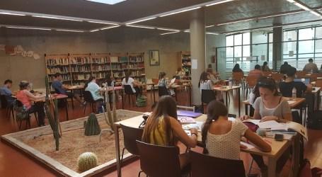 Las bibliotecas y salas de lectura de Paterna amplían de manera extraordinaria sus horarios de apertura