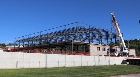 El nuevo centro deportivo de Torrent cobra forma