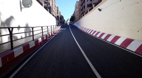 Abierto al tráfico el túnel de la Avenida Reyes Católicos entre Alfafar y Benetússer