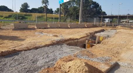 Comença la construcció d'un pas per a vianants subterrani per unir Manises amb l'aeroport