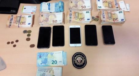 Cuatro detenidos en dos operaciones conjuntas entre la Policía Local y Nacional de Paterna