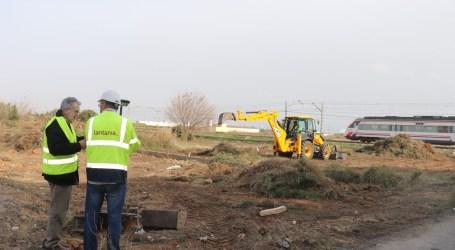 Comienzan las obras de la estación de tren en Albal